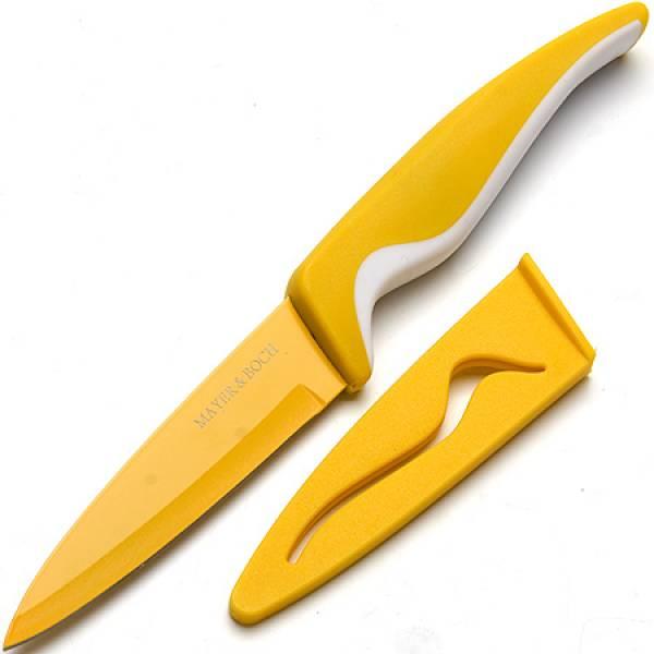 24090 Нож 10см с чехлом в индув.упак MAYER&BOCH