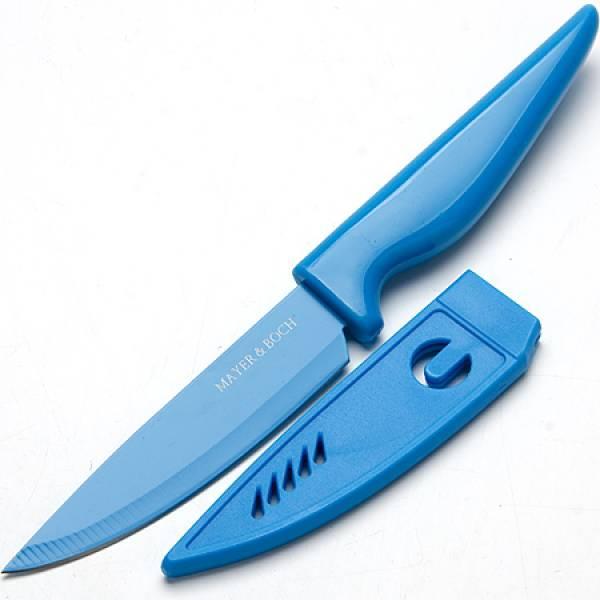 24093 Нож 10см с чехлом в индув.упак МВ (х36)