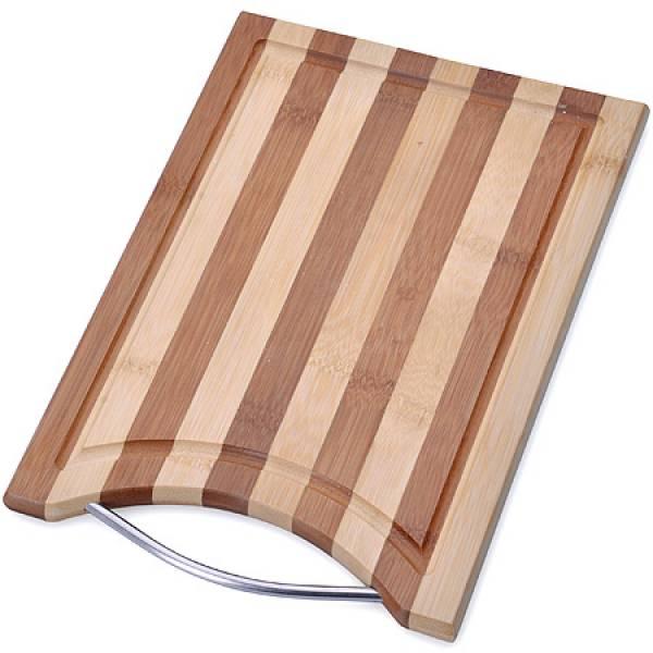 28078 Доска разделочная 30х20см бамбук МВ (х12)