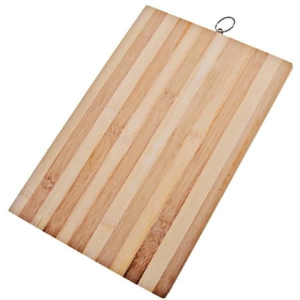 28078-Е Доска разделочная 32х22см бамбук MAYER&BOCH