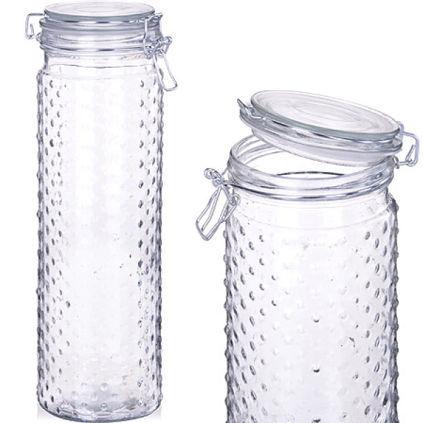 27018 Банка для сыпучих стекло 1800 MAYER&BOCH