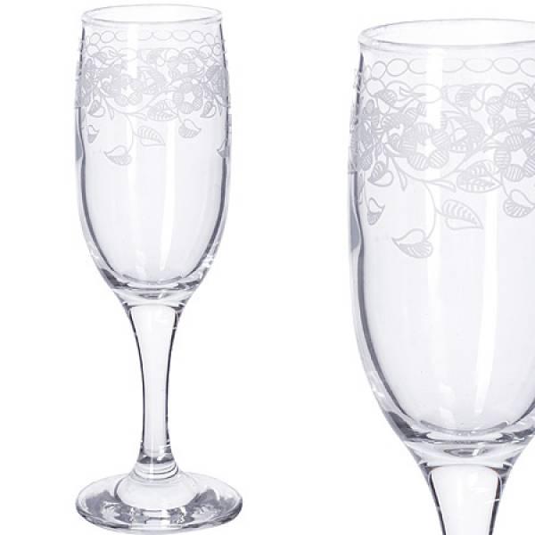 MS419-07-01 Наб 6ти стакан д/шампанского 190мл