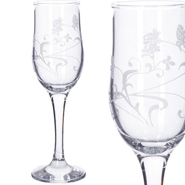 MS160-07 Набор 6-ти бокалов д/шампанского 200м