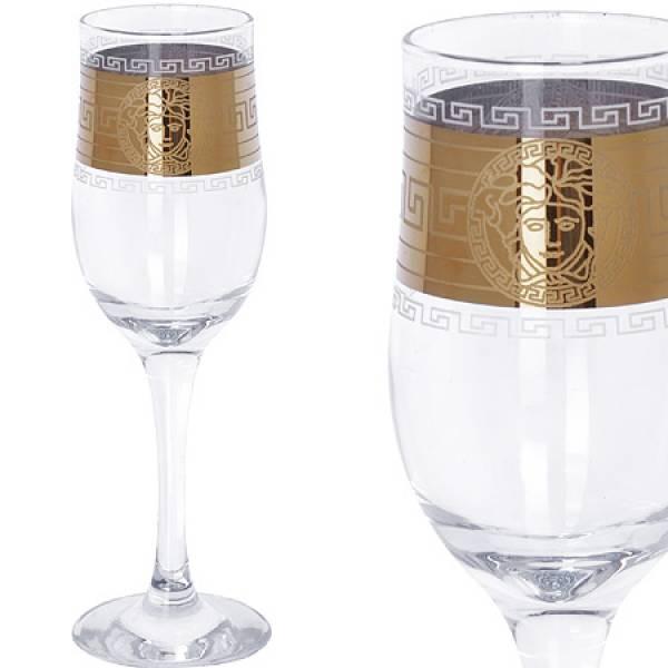MS160-41 Набор 6-ти бокалов д/шампанского 200м