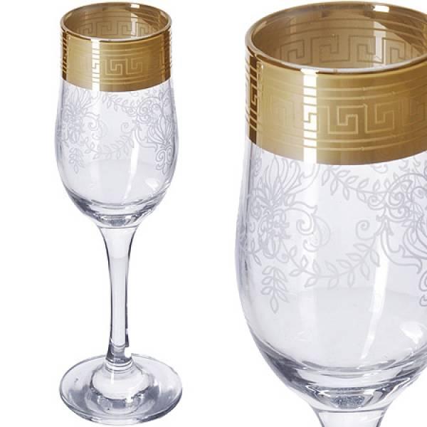 MS160-02 Набор 6-ти бокал д/шампанского 200мл