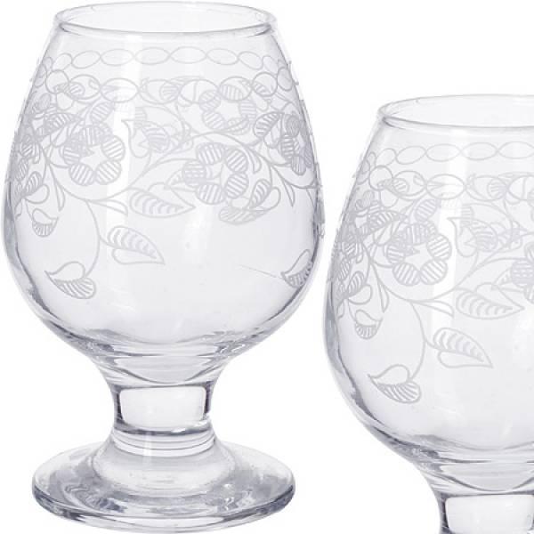 MS483-07-01 Набор 6-ти стаканов д/коньяк 250мл