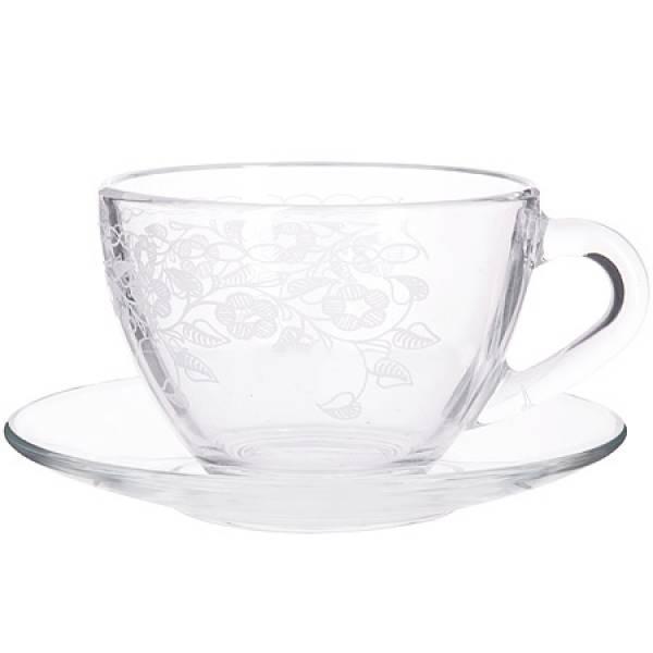 MS1416+1349-07-01 Чайная пара 200мл Флёр (х8)