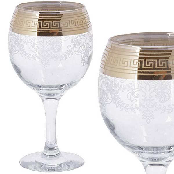 MS411-02 Набор 6-ти бокалов д/вина 260мл