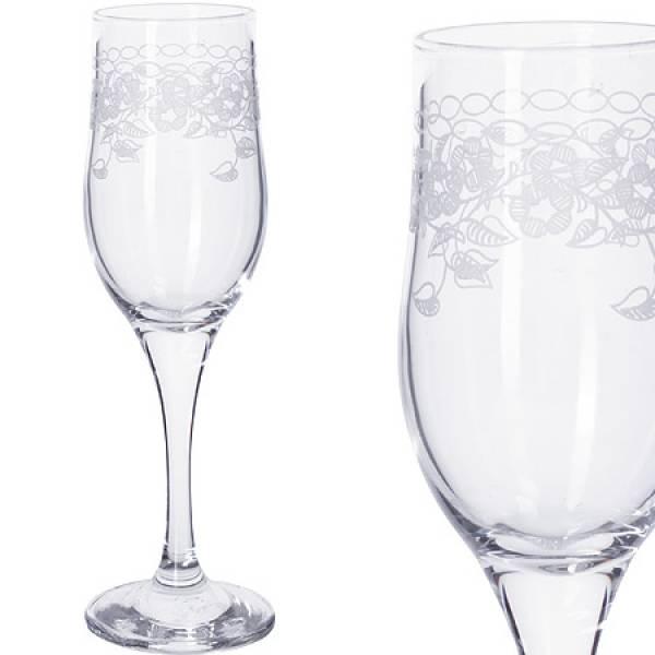 MS160-07-01 Наб 6-ти стакан д/шампанского 200м