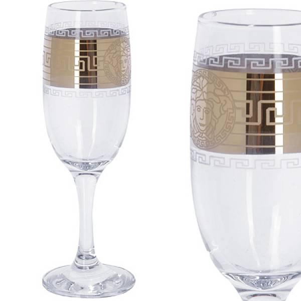 MS419-41 Набор 6ти бокалов д/шмапанского 190мл