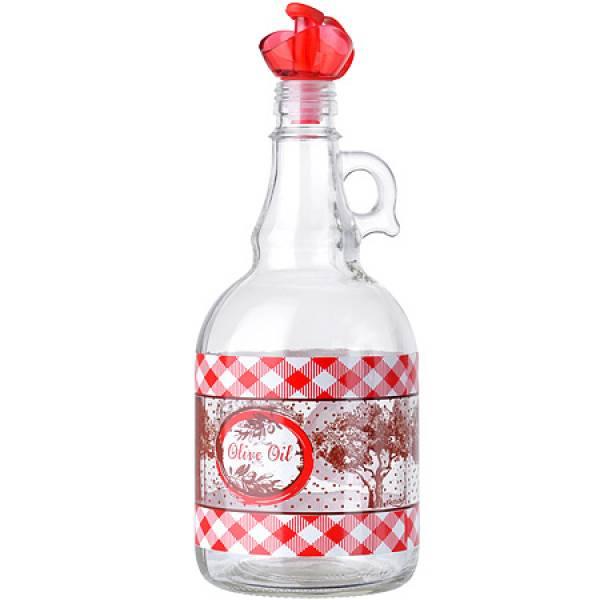 80511-1 Бутылка для масла 1 л КРАСНЫЙ MB (х12)