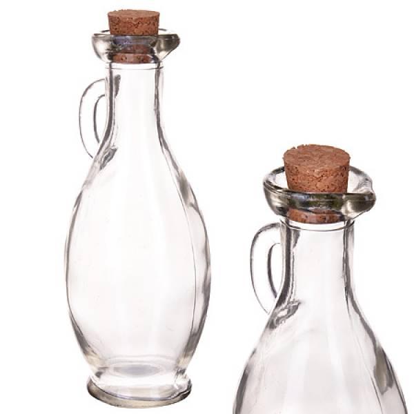 28099 Бутылка 240 мл стекло с пробкой LORAINE