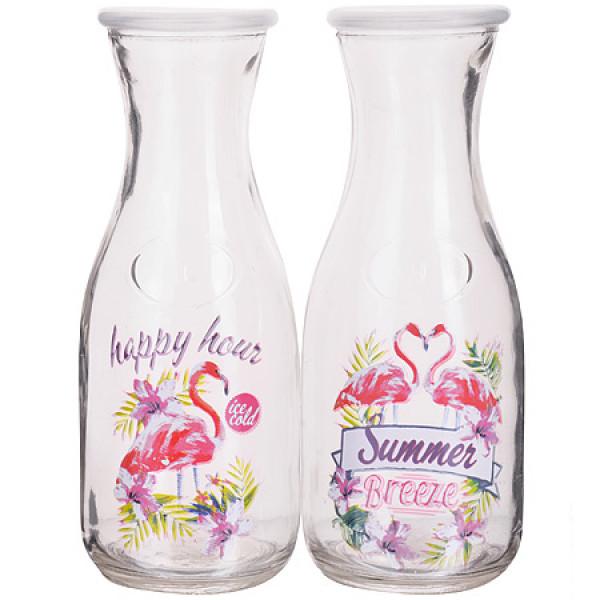 27816 Бутылка стеклянная 0,500 л (в ассортименте) LR (х24)