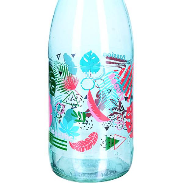 80570-1 Бутылка 1 л стекло БИРЮЗОВЫЙ MAYER&BOCH