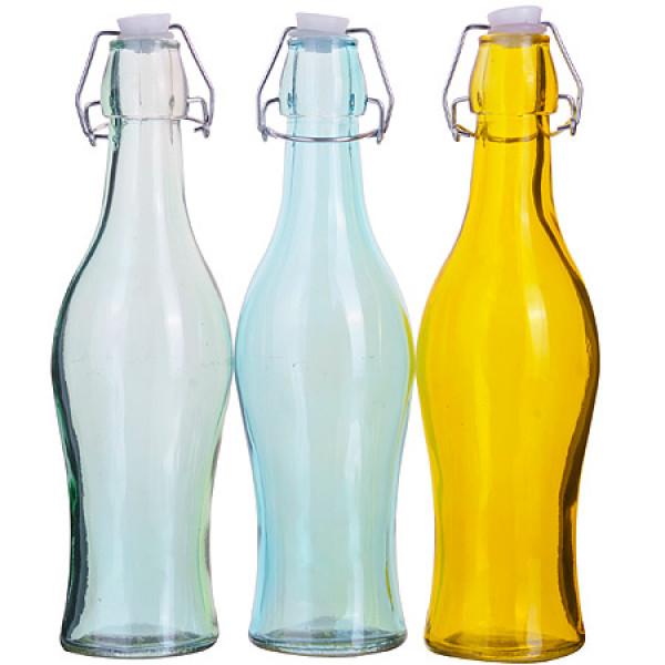 27823 Бутылка 0,500 л стекло с крышкой LR (х24)