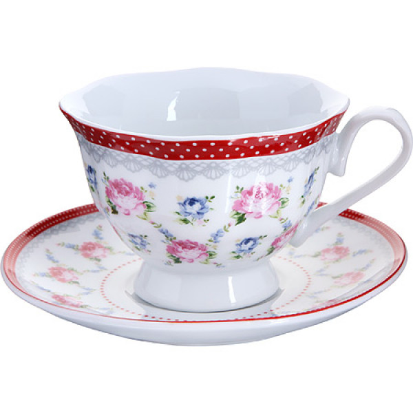 25921-1 Чашка 150мл с блюдцем (х36)