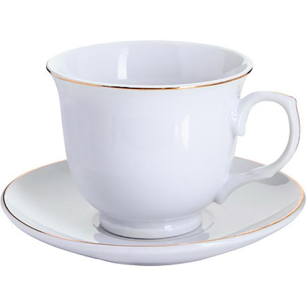 25932-1 Чашка 220мл с блюдцем (х36)