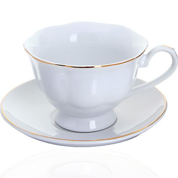 25930-1 Чашка 180мл с блюдцем (х36)