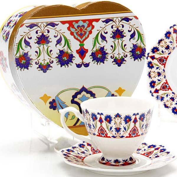 26625 Чайная пара 2пр (чашка180мл+блюдце) LORAINE