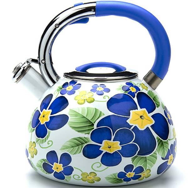 23851 Чайник 3,5л со свистком ЭМАЛЬ MAYER&BOCH