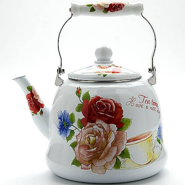 23079 Чайник мет 5л с/кр ЭМАЛЬ MAYER&BOCH(х6)
