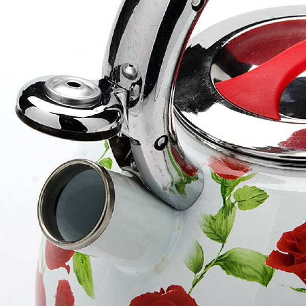 23853 Чайник 3,5л со свистком ЭМАЛЬ MAYER&BOCH