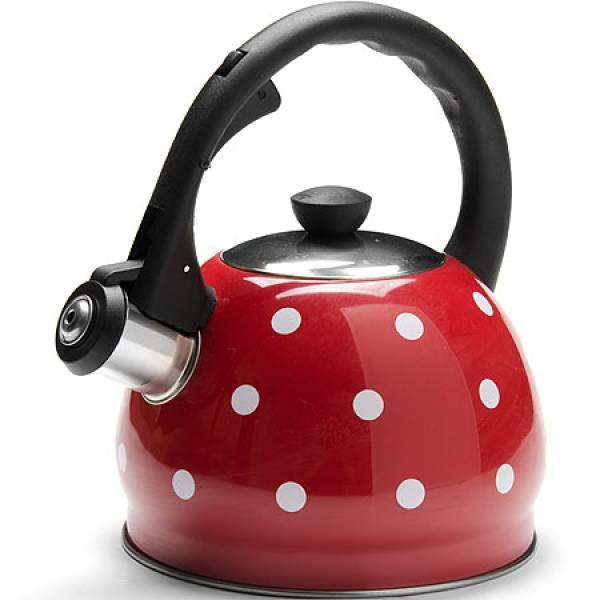25893 Чайник 2л красный со свис нер/корпус MAYER&BOCH
