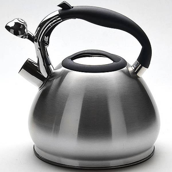 22678 Чайник метал 3,2 л со свистком MAYER&BOCH