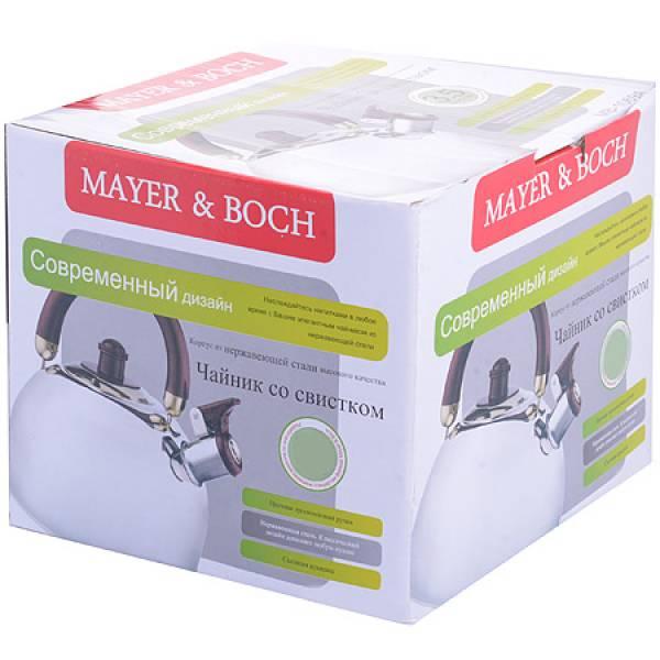 1622-3 Чайник MAYER&BOCH 2л.со свис.ручка Бирюза