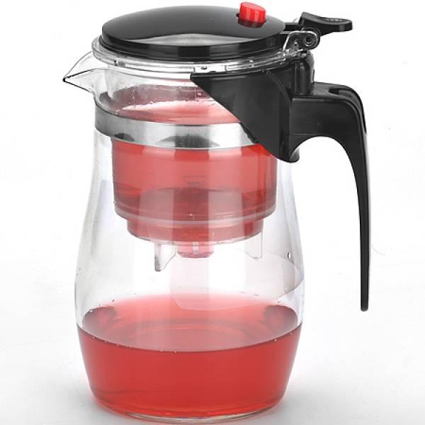 4023 Завар/чайник(0,75л) стекл.MB дав/клап