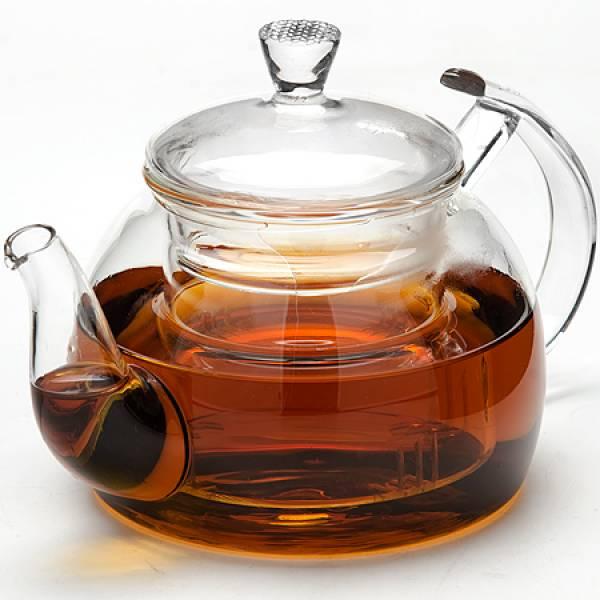 24938 Заварочный чайник стекло 800мл с/кр MAYER&BOCH