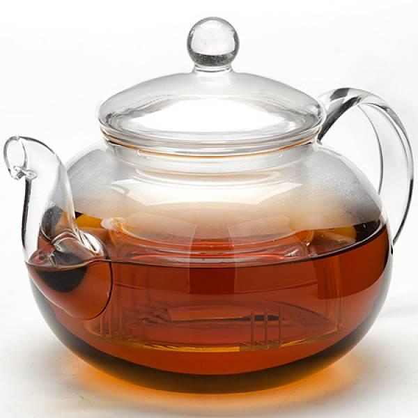 24940 Заварочный чайник стекло 1 л с/кр MAYER&BOCH