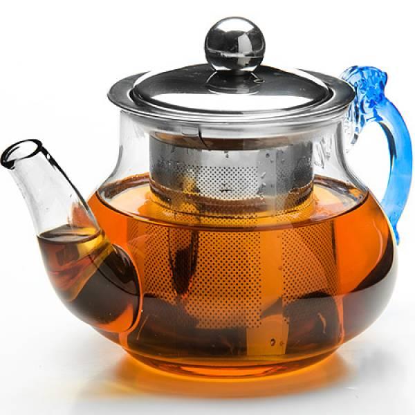 26200 Заварочный чайник стекло 400мл+сито MAYER&BOCH