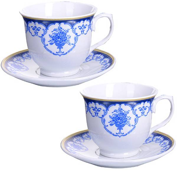 28647 Чайная пара 4 предмета 220мл LORAINE