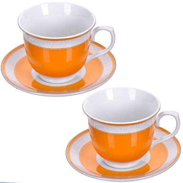 28637 Чайная пара 4 предмета 220мл LORAINE