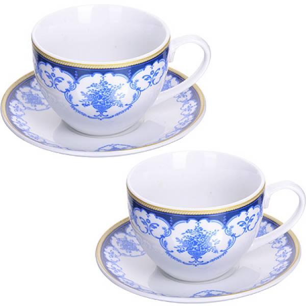 28650 Чайная пара 4 предмета 220мл LORAINE