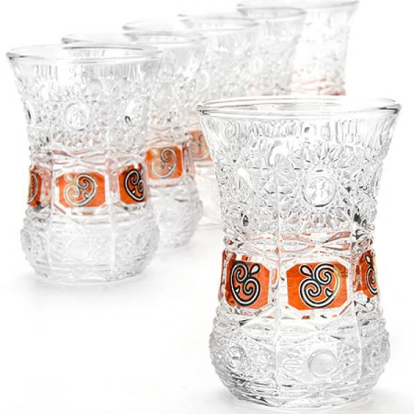 24676 Набор стаканов 6пр 130мл в под/упак LORAINE