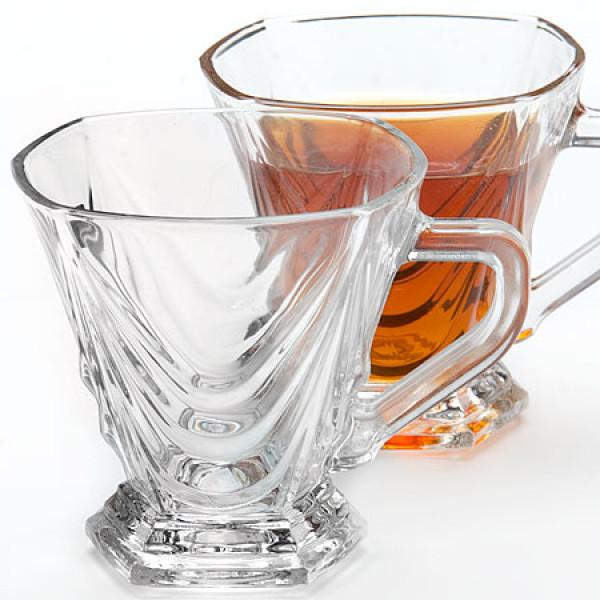 426 Чайный набор стекло 6 пр(х8)