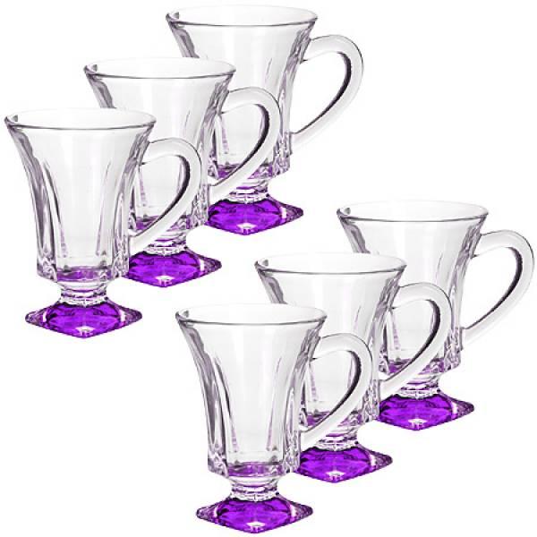 20220 Набор стаканов ФИОЛЕТОВЫЙ 6 предметов LORAINE