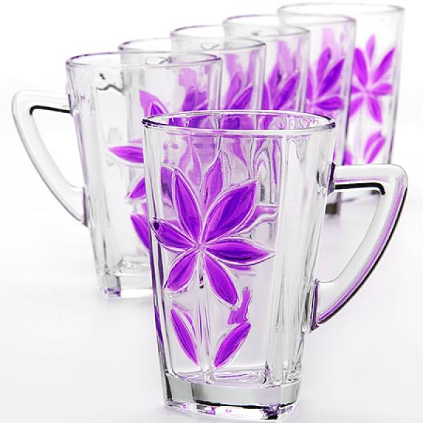 24084 24085 Набор стаканов 6пр 255мл LR (х6)
