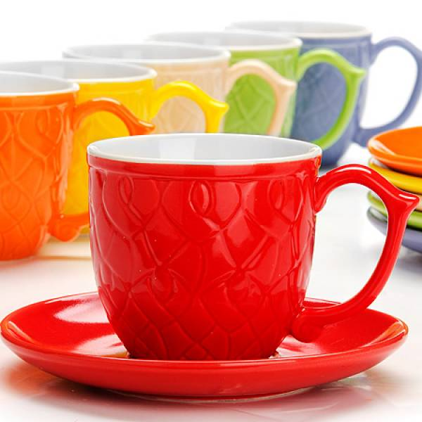 26553 Чайный сервиз 12пр 240мл в под/упак LORAINE