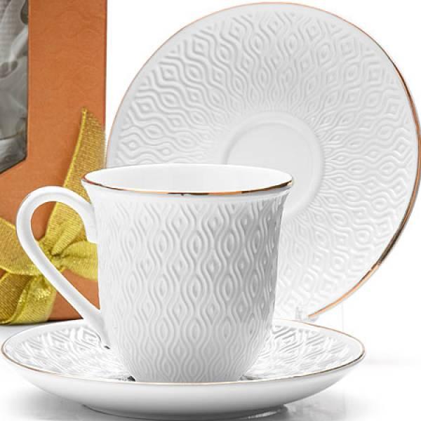 25778 Чайный набор 8пр 240мл фарфор LORAINE (х16)