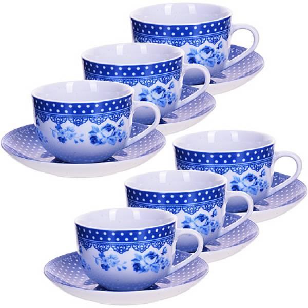 25908 Чайный набор 12пр чашка+блюдце LORAINE