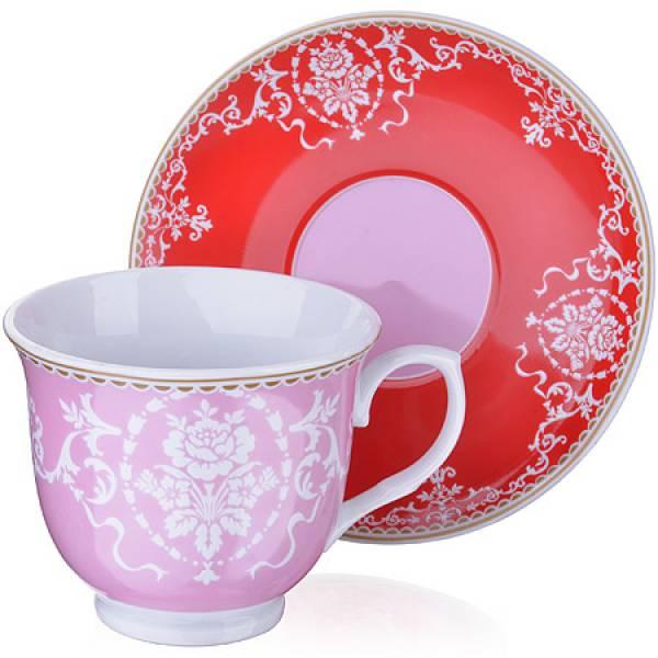 27886 Чайный сервиз 12 пр керамика 220мл LR (х6)