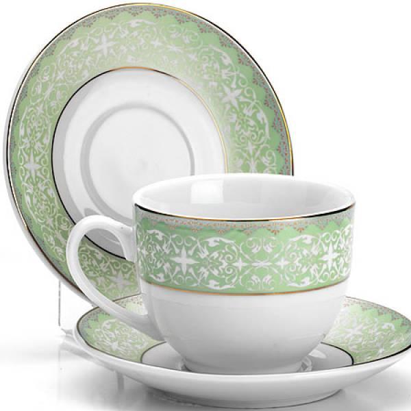 25900 Чайный набор 12пр 220мл фарфор под/уп LORAINE
