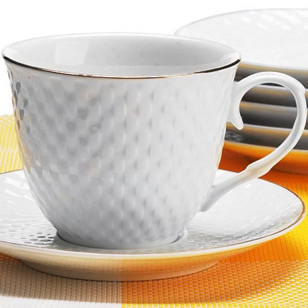 26507 Чайный сервиз 12пр 200мл в под/упак LORAINE
