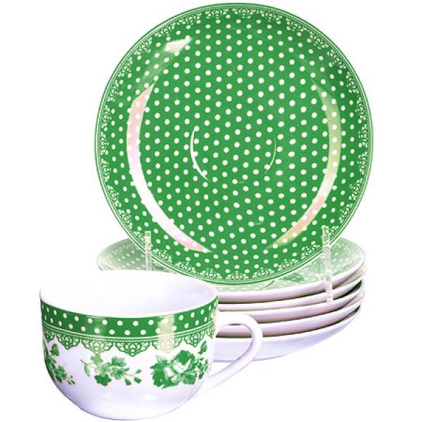 25909 Чайный набор 12пр чашка+блюдце LORAINE