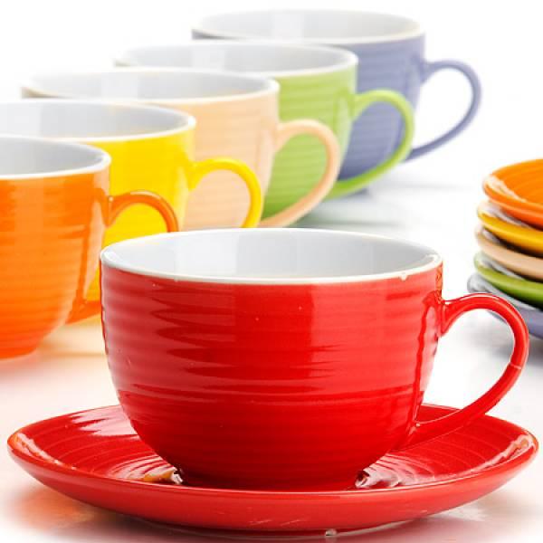 26551 Чайный сервиз 12пр 240мл в под/упак LORAINE