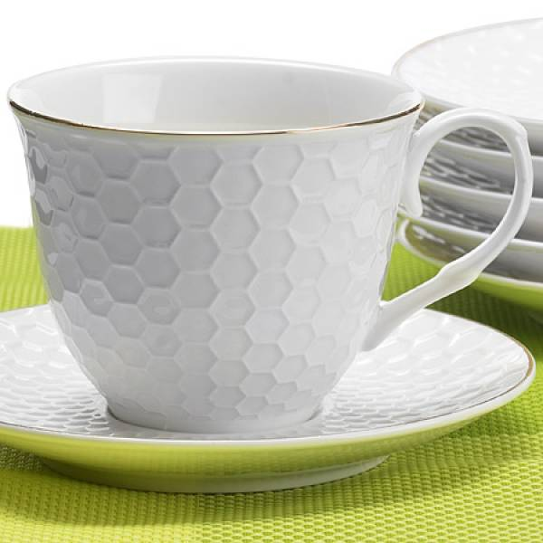 26506 Чайный сервиз 12пр 200 мл в под/упак LORAINE
