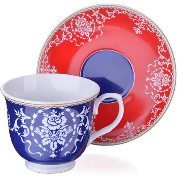 27885 Чайный сервиз 12 пр керамика 220мл LR (х6)